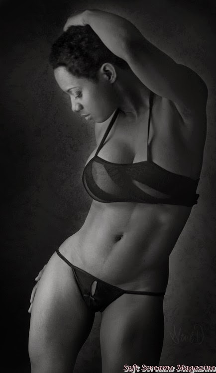 ebony large breasts erotic woman